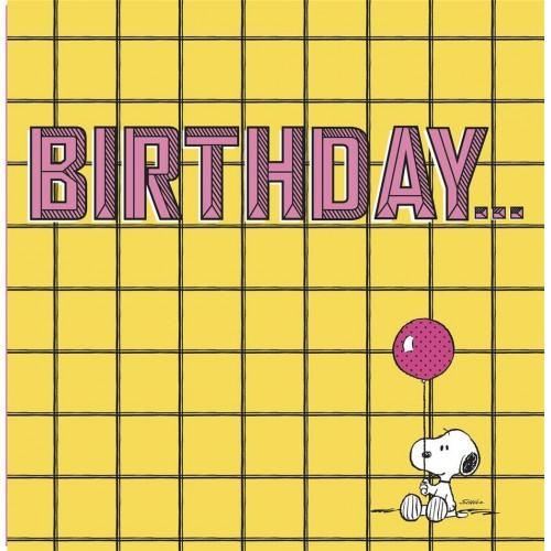 Snoopy Peanuts Birthday Card - 11528337