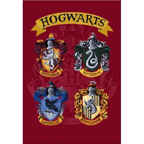 Harry Potter Hogwarts Card