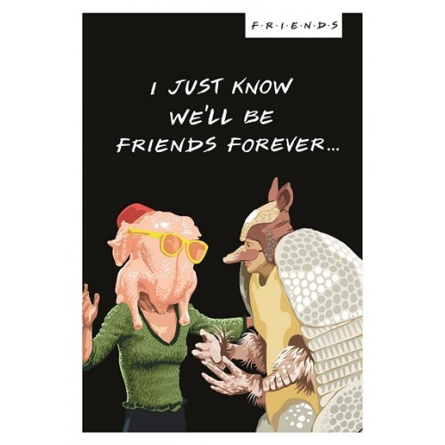 Friends TV Show Card - Friends Forever