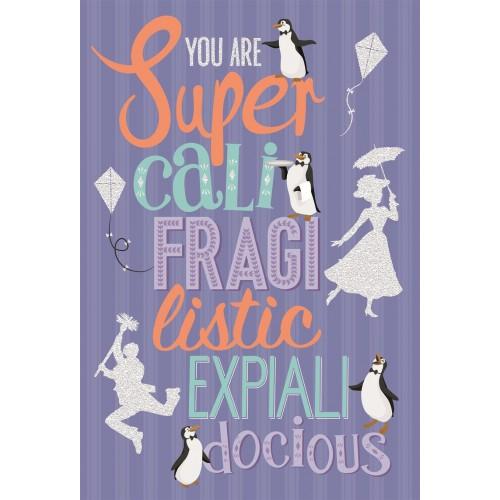 Mary Poppins Birthday Card