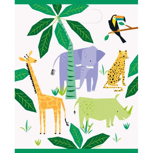Animal Safari Party Bags (Pack of 8)