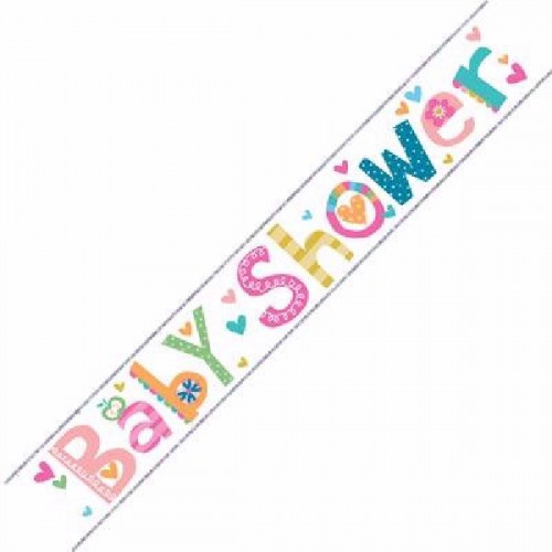Baby Shower Foil Banner (9ft)