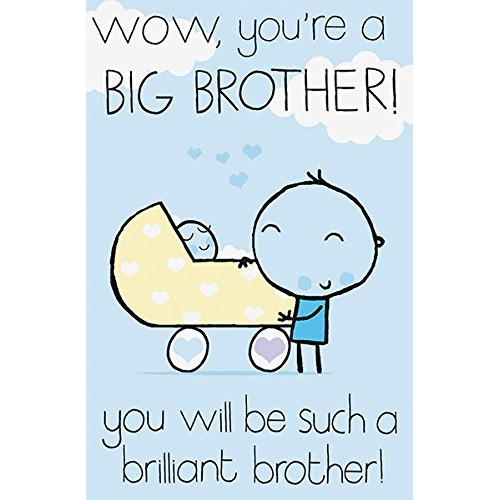New Big Brother Baby Card