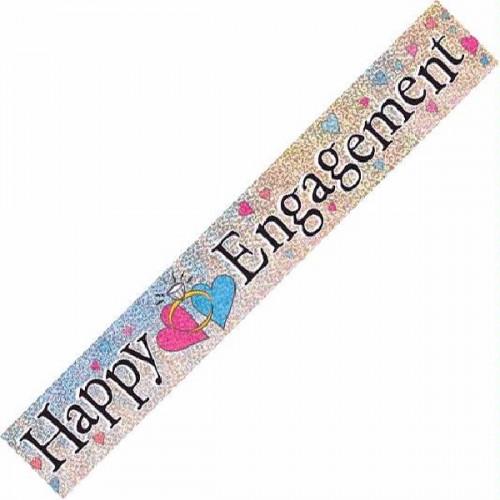Engagement Foil Banner (12ft)