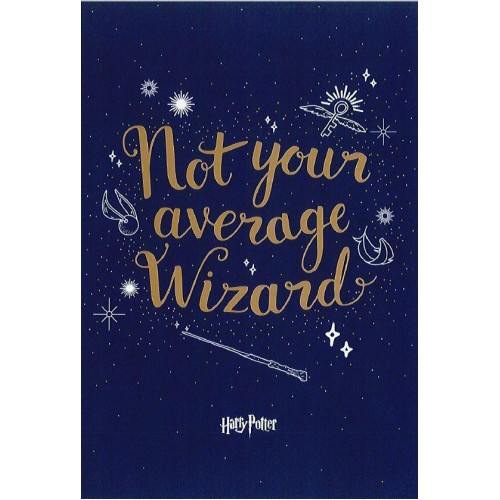 Harry Potter Birthday Card - Not Your Average Wizard