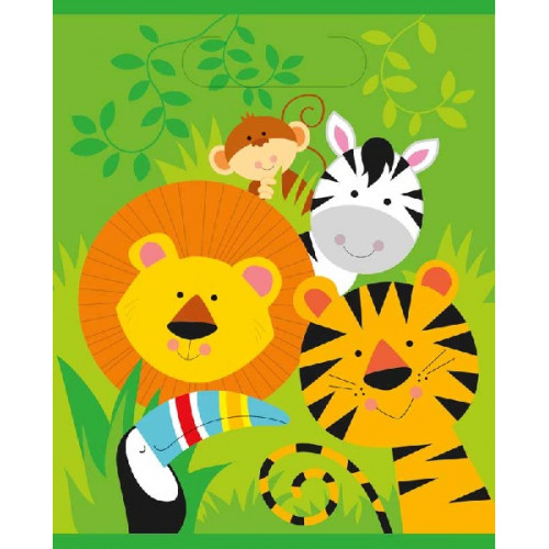 Animal Jungle Party Bags (Pack of 8)