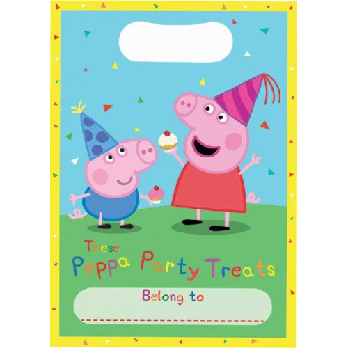Peppa Pig Party Bags (Pack of 8)