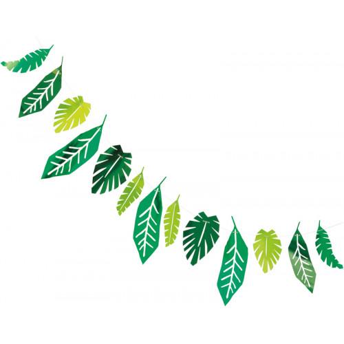 Safari Leaves Garland (7ft)