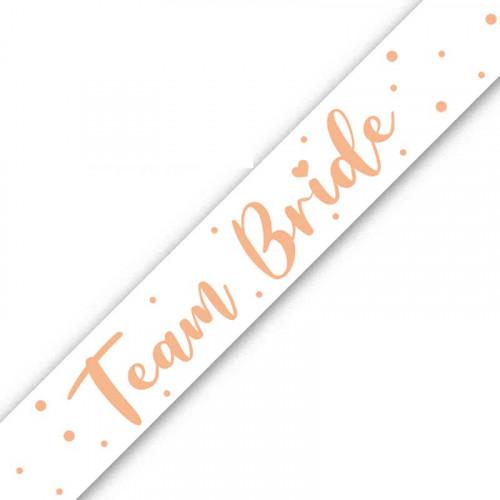 Team Bride Foil Banner (9ft)