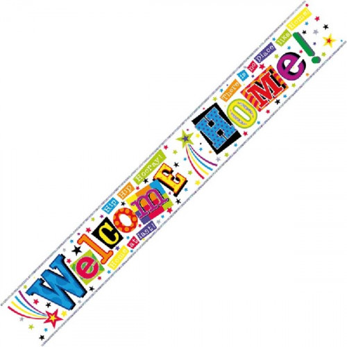 Welcome Home Banner (9ft)