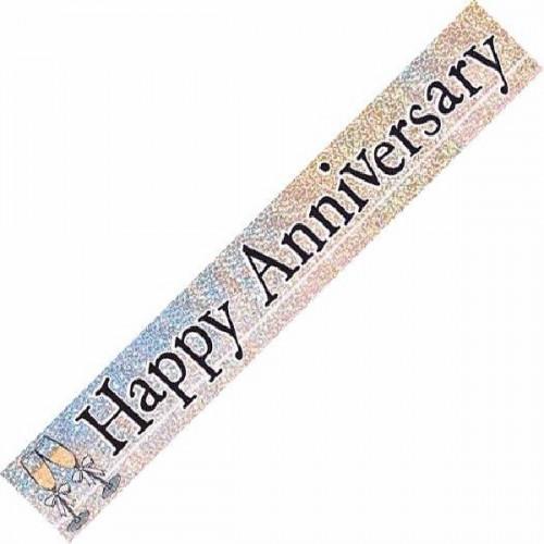 Anniversary Foil Banner (12ft)