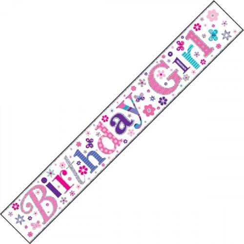 Birthday Girl Banner (9ft)