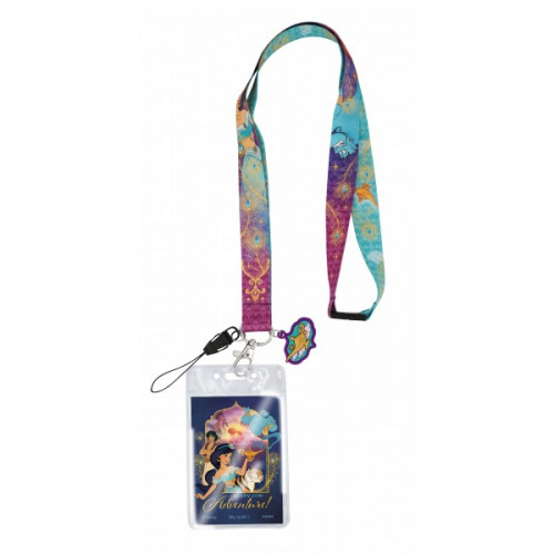 Disney Aladdin Lanyard With Card Holder