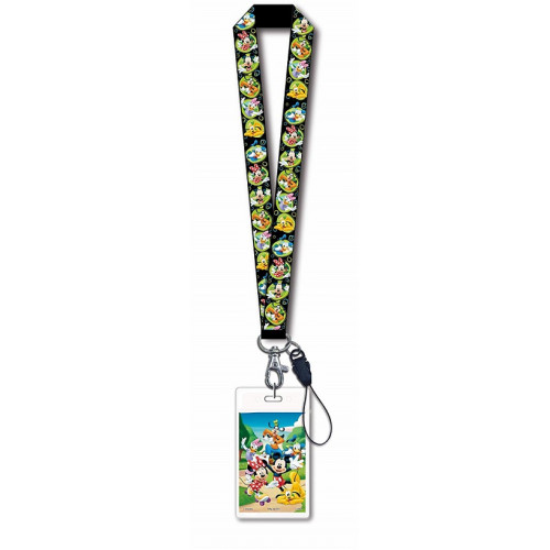 Disney Mickey Mouse and Gang Lanyard With Card Holder - 24888