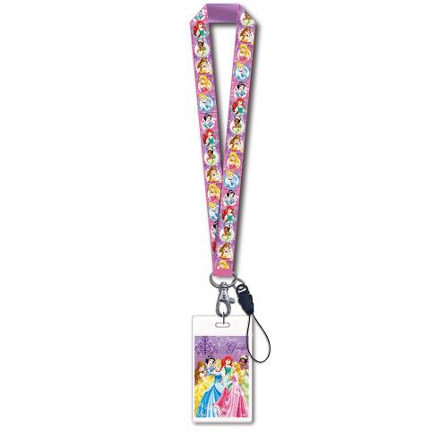 Disney Princess Lanyard With Card Holder -  23691