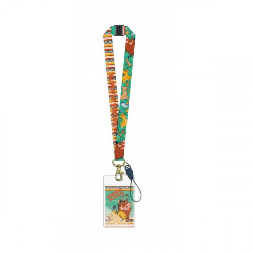 Disney The Lion King Lanyard With Card Holder - 26203