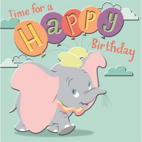 Dumbo Birthday Card