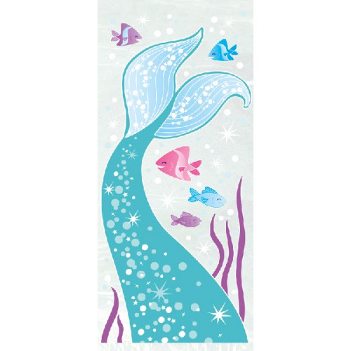 Mermaid Cellophane Bags (Pack of 20)