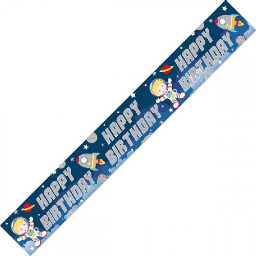 Space Birthday Banner (9ft)
